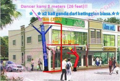 Sky Dancer 2018 *Paling Tinggi* 8 meters (26 Feet)
