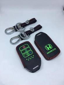 Honda civic fc 2016-19 leather reflector key cover