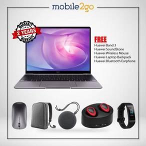 Huawei MateBook 13 [i5+256GB/i7+512GB] + FREE GIFT