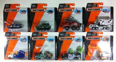 Matchbox 1:64 Real Working Rigs D Case Set of 8pcs
