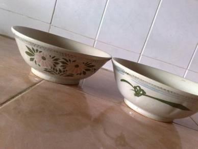 Mangkuk antik antique oriental laksa bowl