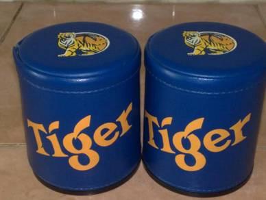 Cawan tiger beer dice shaker cup 2