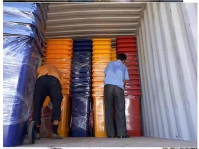 Tong sampah beroda mobile garbage bin MGB