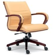 Executive Lowback Chair Wooden Line OFM2633H KL