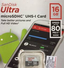 SanDisk micro SD 16g