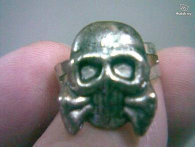 ABRSMF-S005 Cool Style Skull_05 Ring free size