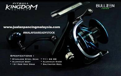 Bullzen pitbull kingdom sw spinning reel