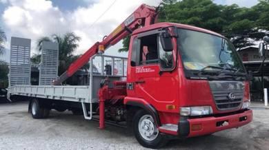 Nissan Self Loader Crane Hino Isuzu carrier EURO
