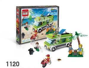 Bricks - EN 1120 Travel Car Bus building block
