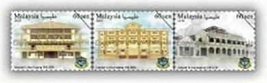 Mint Stamp Yu Hua High School Malaysia 2018