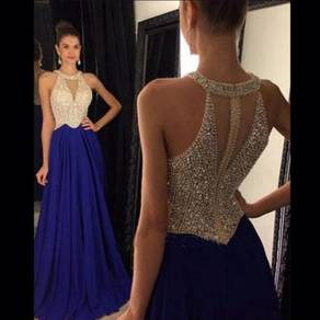 Diamond wedding prom dress gown red RBP0702