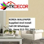 Wall paper Install at Living Space 20Z1W