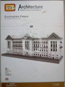 LoZ 9540 Buckingham palace building nano block