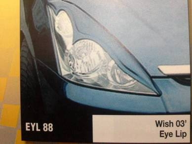 Toyota wish 04 eye lip