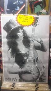 Poster SLASH GUNS N ROSES A1