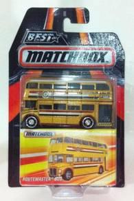 Matchbox Best Of Matchbox - Routemaster Bus Gold