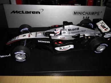 Minichamps McLaren MP4-19 Kimi Raikkonen 1/18