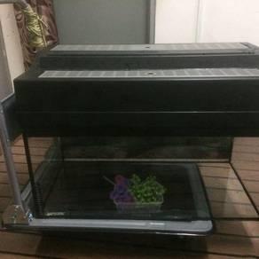Aquarium 2.5x1.5 free 2 barang