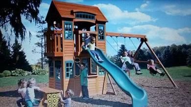 Slide playhouse