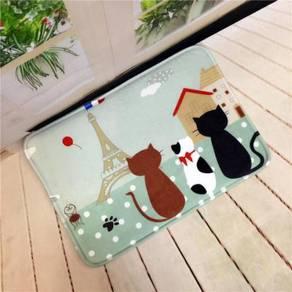 Cat kucing tikar permaidani carpet rug mat kitchen