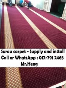 Masjid Surau Carpet Karpet Prices from Fact. RS101