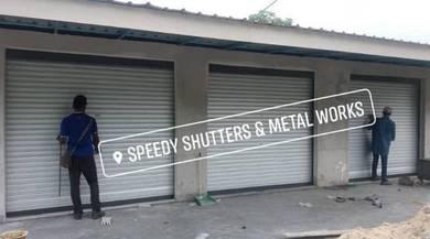 Roller Shutter install reparing