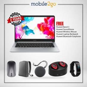 Huawei MateBook D [256GB SSD/8GB RAM] + FREE GIFT