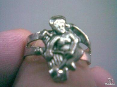 ABRSMF-A001 Style Angel Full Body Silver Meta Ring