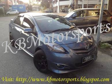 Toyota Vios TRD Sportivo Bodykit With Spray Color