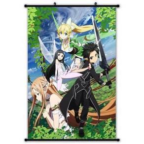 Anime SAO Wall scroll