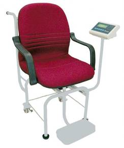 Digital chair weighing scales