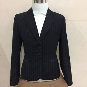 G2000 Black Striped Shirt Size 11