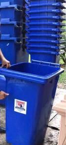 Recycle bin wheeled bin