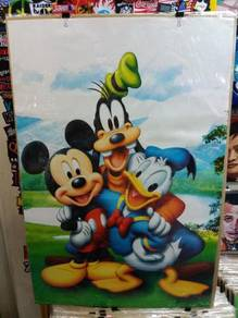 Poster MICKY DUCK GOFFY