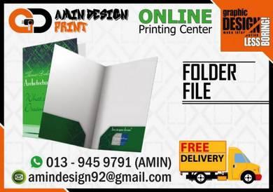 Jom cetak pocket folder / file