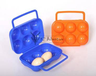Camping Egg Container 6pcs