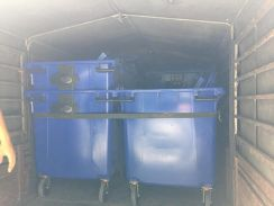 Tong sampah beroda mobile garbage bin