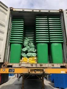 Tong sampah beroda recycle bin