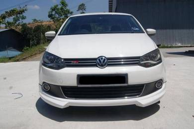 Volkswagen polo sedan rieger bodykit with paint