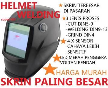 Welding Helmet Industry auto darkness Big Screen