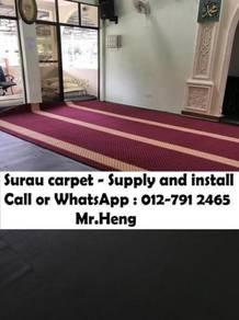 Masjid Surau Carpet Karpet Prices from Fact. NO55