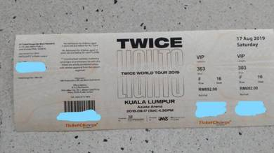 Twicelights in KL VIP tickets