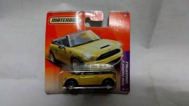 Matchbox Mini Cooper S Convertible not Hotwheels