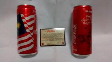 Coca Cola Merdeka Collection + Trading Card