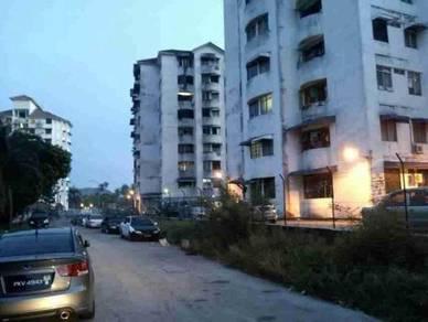 Taman sri relau (block 88c) 3-rooms tiles floor k/top free parking