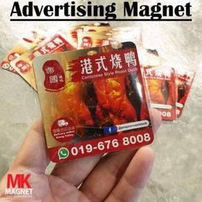 Food Delivery Advertising Fridge Magnet