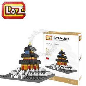 LoZ 9364 Temple of Heaven building Nano block