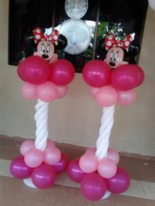 Mickey minnie In the House pillar