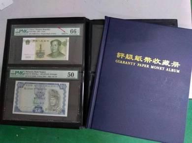 Graded Paper Money Album
