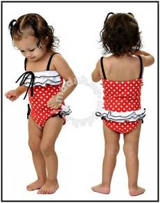 (SS15-5) Lady Bird Swimsuits For Kids, Set In 2